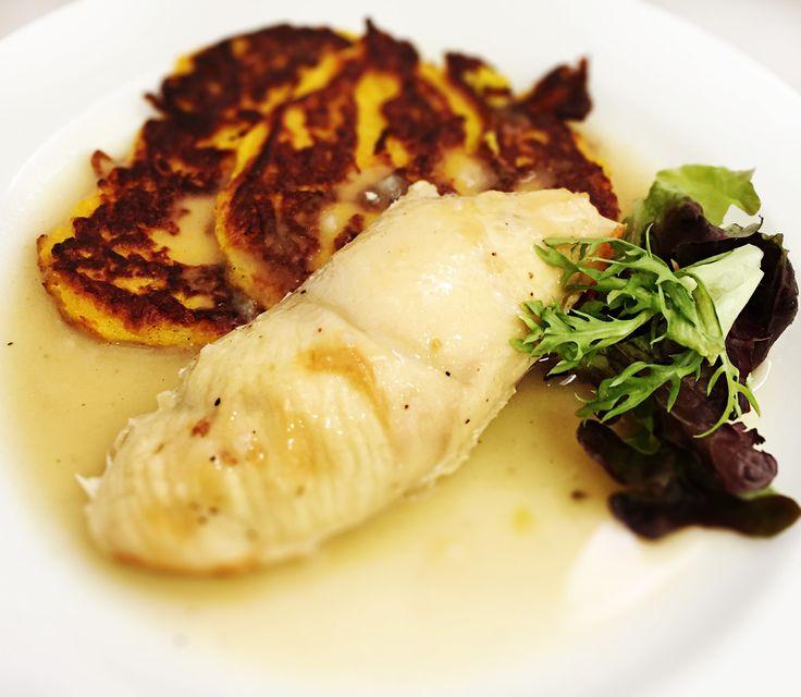 Denné menu Vranov | Labužnícke kuracie prsia s mandľami, tekvicové placky - reštaurácia Hotel Patriot*** #hotel #restauracia #dennemenu