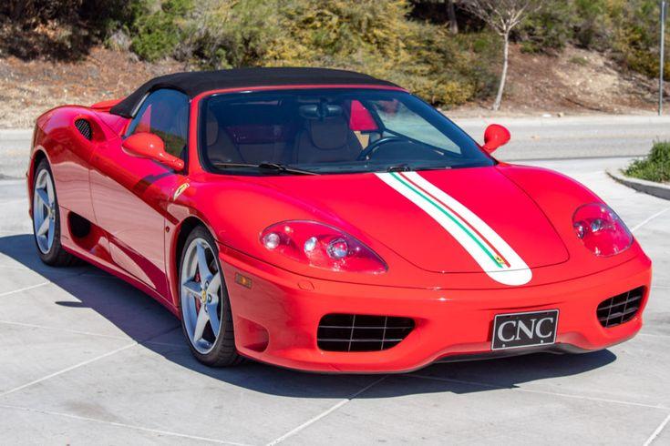 12k Mile Euro 2001 Ferrari 360 Spider Ferrari 360 Ferrari Car