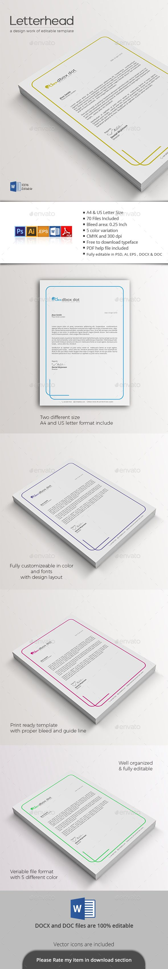 The 25 best format of a letter ideas on pinterest friendly letterhead the clean and creative letterhead template belongs some common and effective file format version mitanshu Choice Image