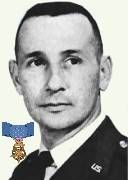 Captain Hilliard A. Wilbanks (1933-1967) USAF. Awarded posthumously Medal of Honor, Distinguished Flying Cross, Purple Heart, Air Medal, Air Force Commendation Medal.