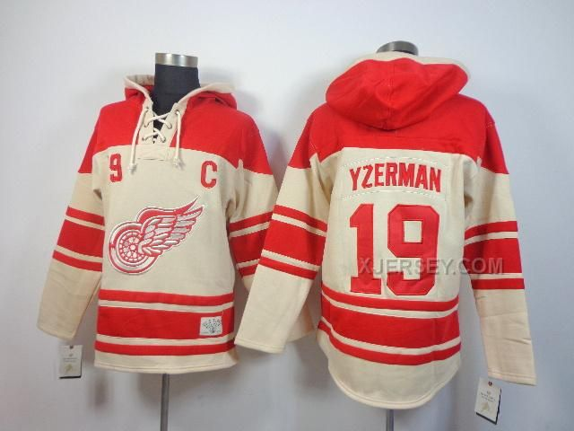 http://www.xjersey.com/nhl-red-wings-19-yzerman-cream-hooded-jerseys.html NHL RED WINGS 19 YZERMAN CREAM HOODED JERSEYS Only $50.00 , Free Shipping!