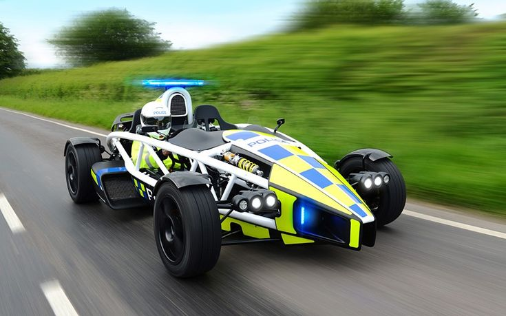 Top Gear's 'fastest' car is unveiled by Avon and Somerset police as new weapon   to deter speeding motorists