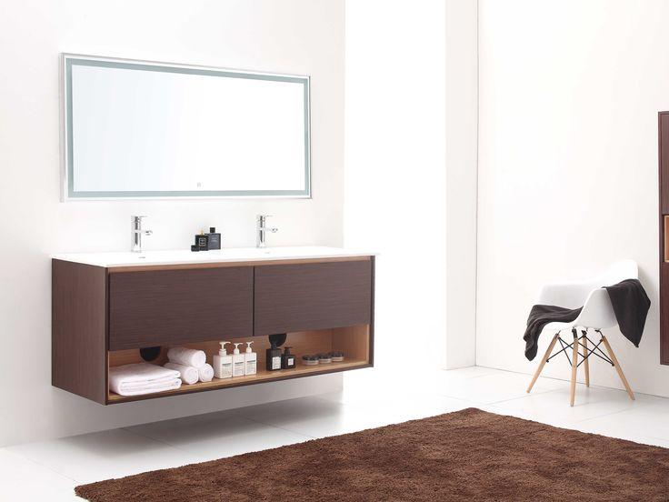 stylish modular wooden bathroom vanity. 63\ Stylish Modular Wooden Bathroom Vanity
