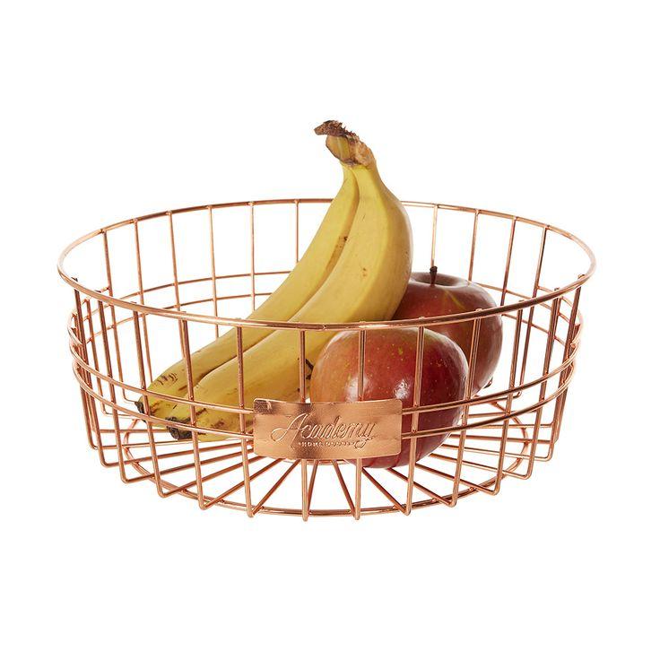 #howardsstorage #christmaswishlist Howards Storage World | Orwell Round Basket - Copper