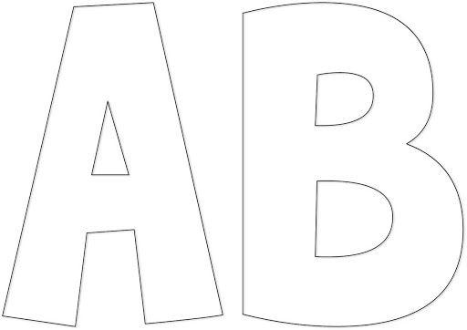 abecedario timoteo completo en moldes - ALOjamiento de IMágenes