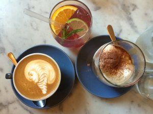 Three Williams is a terrific cafe where understated trendiness is trendy providing simple satisfying meals with a focus on flawless execution.