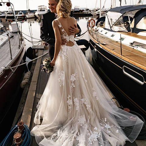 Hochzeitskleid Instagram