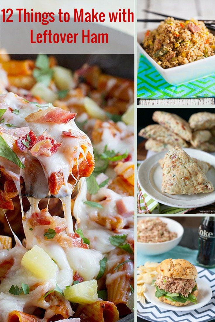 12 Recipes with Leftover Ham