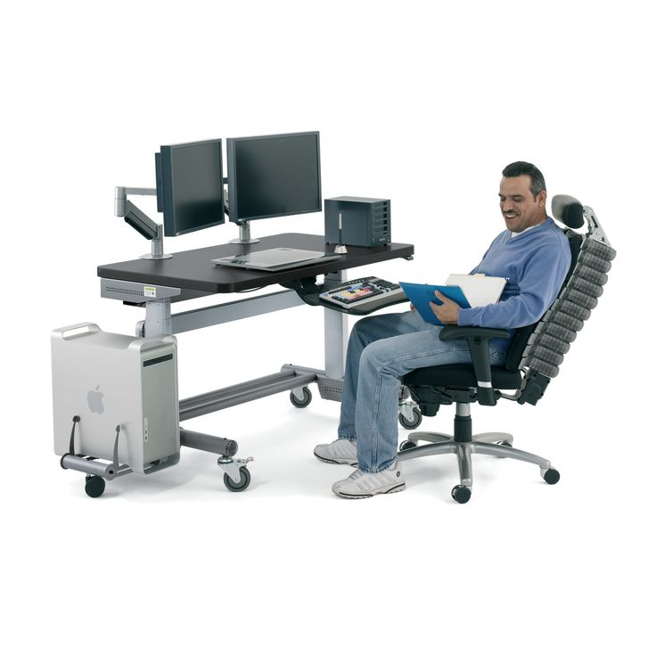 1000 Images About Editing Workstation On Pinterest Adjustable Table Height