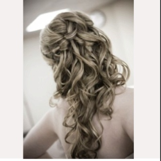 Possible grad hairstyle.