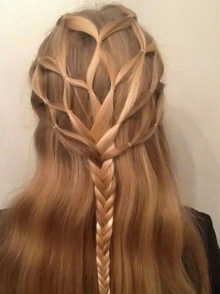 Lindo peinado cool con 2dos estencioenes blancas