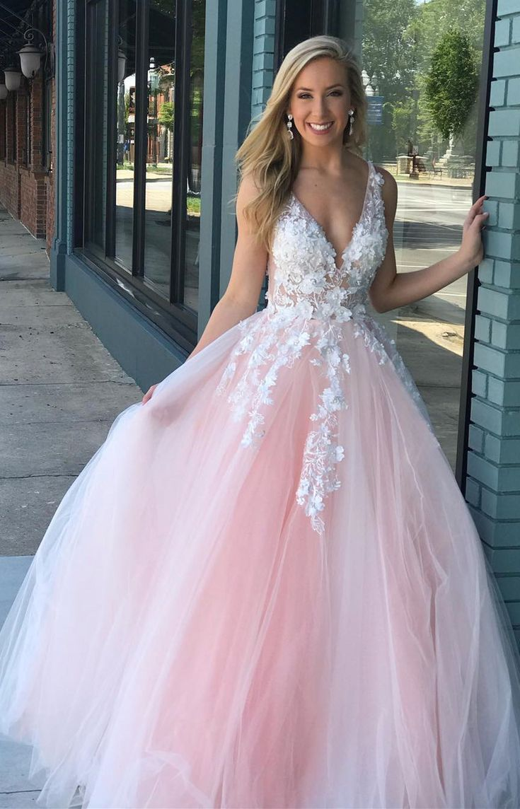 Turquoise Lace Applique Ball Gown Long Ball Gowns Quinceanera