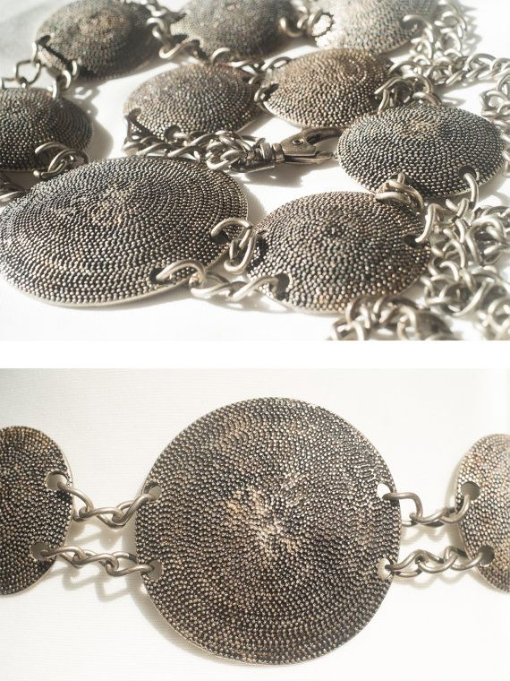 We present you Rare Beautiful and Unique metal belt. Looks like made of…