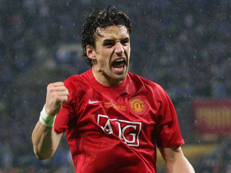 Owen Hargreaves is the man. Champions League final 2008