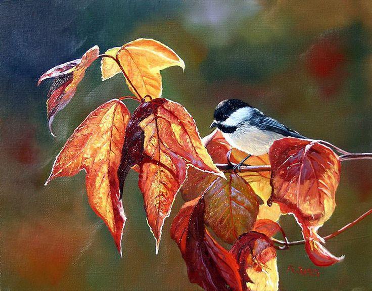 Andrew Kiss | Художники, Раскраски, Осень
