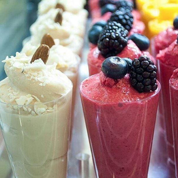 gelato alla frutta esotica da gelataro pantheon