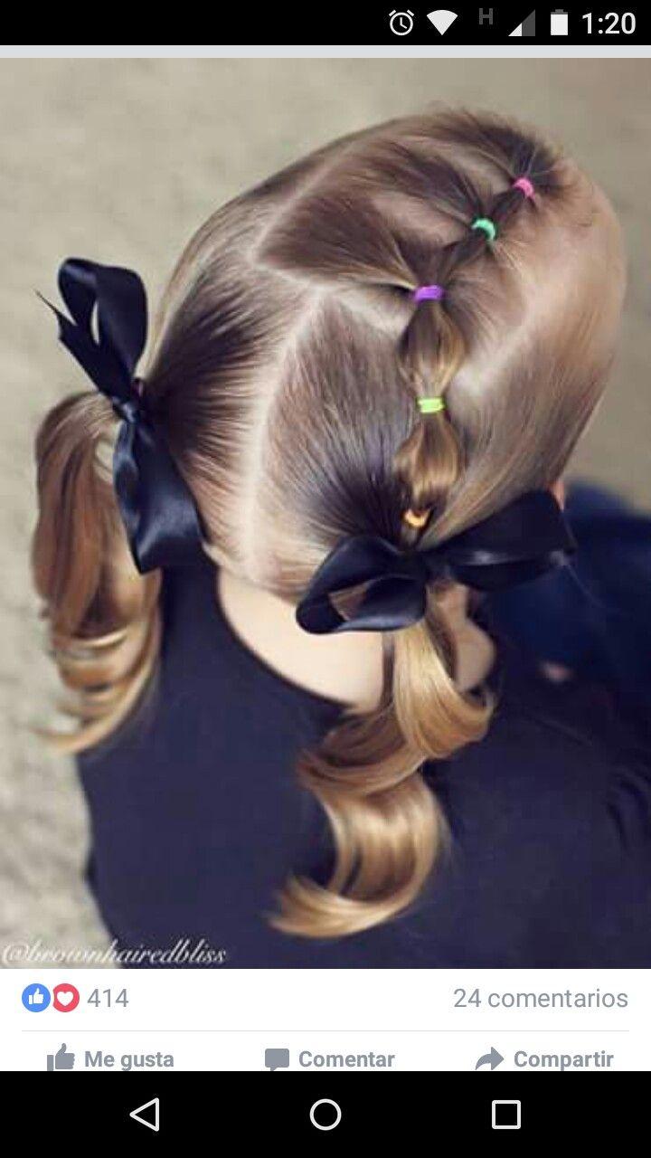 Peinados Para Bebes Con Cauchos Cabello Corto Peinados Con Estilo