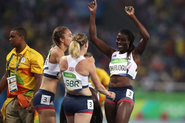 Christine Ohuruogu saw GB home