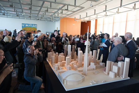 The Mirvish & Gehry introduction of this new addition to Toronto's beautiful skyline