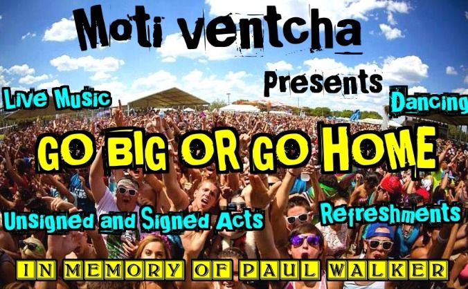 I'm supporting go big or go home festival in memory of paul walker http://www.crowdfunder.co.uk/go-big-or-go-home/