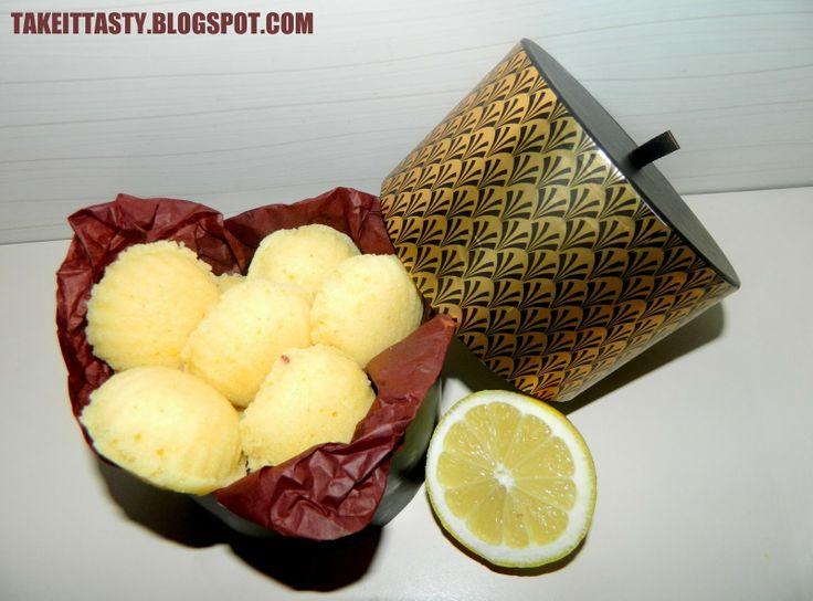 Cytrynowe magdalenki :)