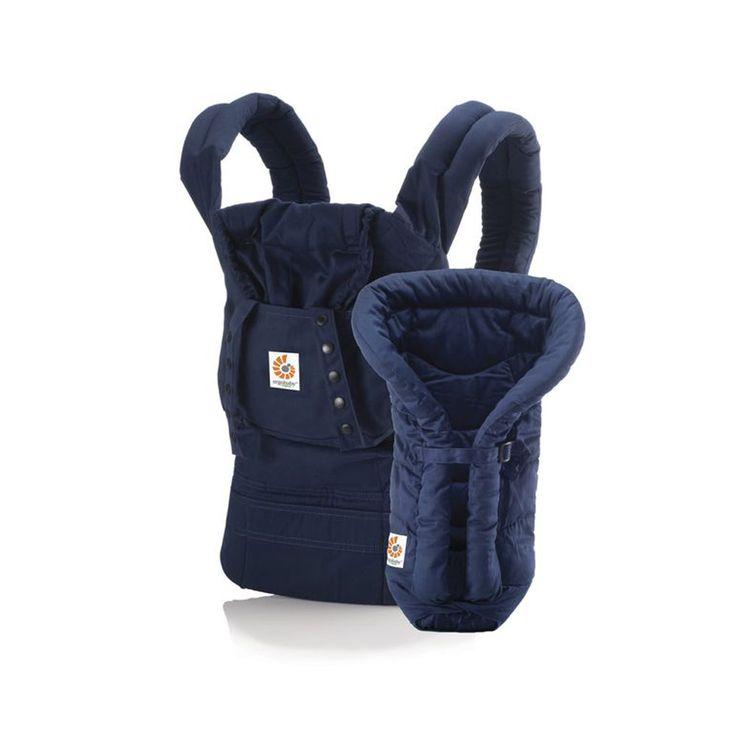 #Babytrage von #Ergobaby - Set #Organic von Geburt an - Paket Navy aus 100 % #Bio Baumwolle   Babyartikel.de