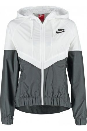 chaquetas de verano mujer - Nike Sportswear Chaqueta fina white/black/black