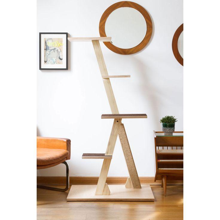 Maximal 5 Stufen lassen sich individuell mit dem natürlichen tretford® Teppich in den Farben schokoladenbraun, creme und mittelgrau bestücken. Komplett aus N