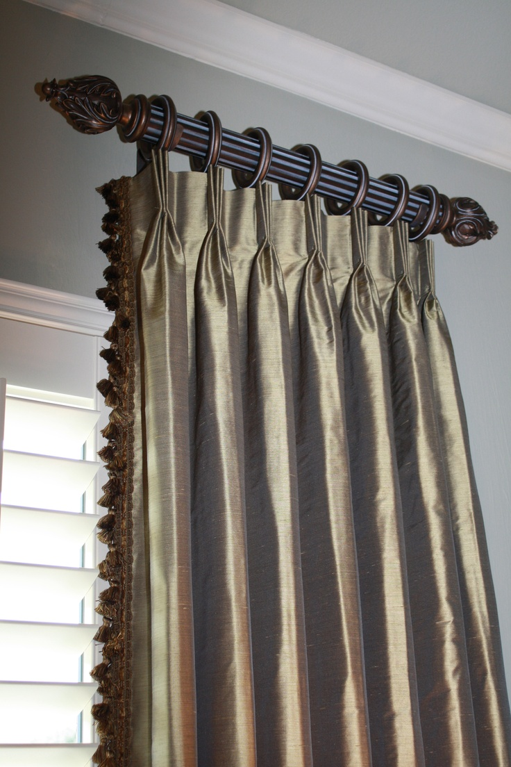 95 Best Drapery Pleats Images On Pinterest Window Dressings Shades And Window Coverings