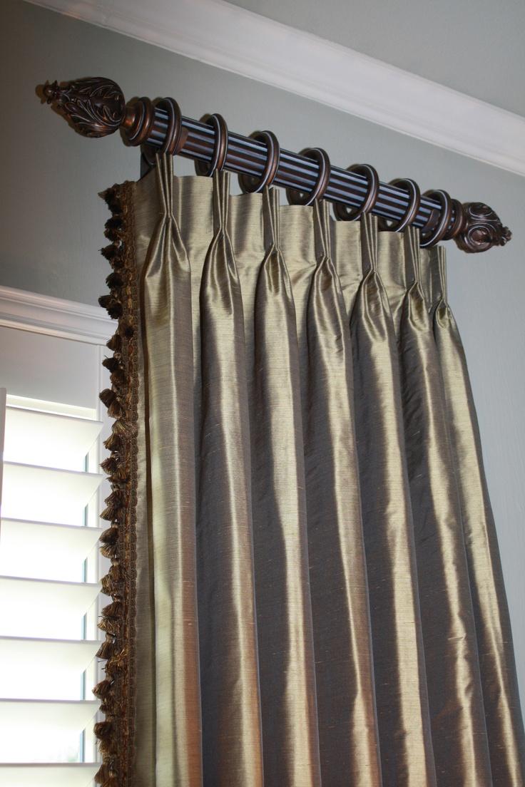 94 best Drapery Pleats images on Pinterest | Curtains ...