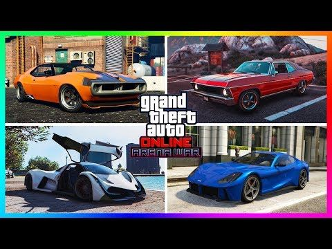 nice GTA Online Arena War DLC Unreleased Cars/Vehicles - NEW INFO
