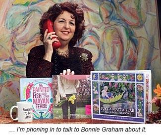 Radio show host Bonnie Graham.