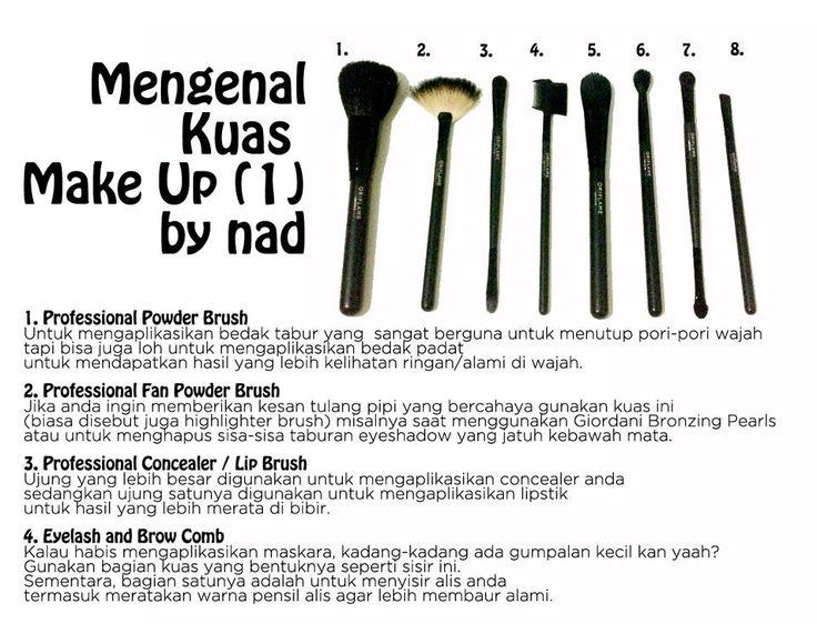 Mengenal Kuas Makeup