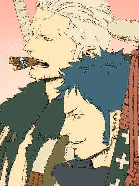 Smoker - Law - One piece