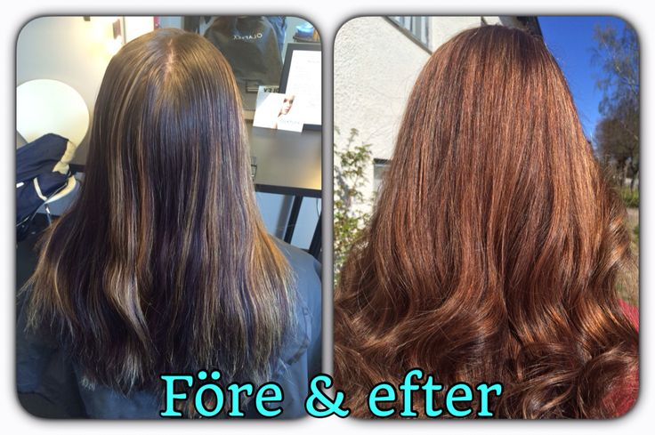 Before and after, highlights.
