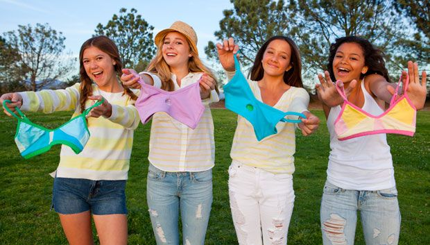 A Fashionable Line of Bras For Teens, by Teens- not that we need this yet, but it will be here soon enough.