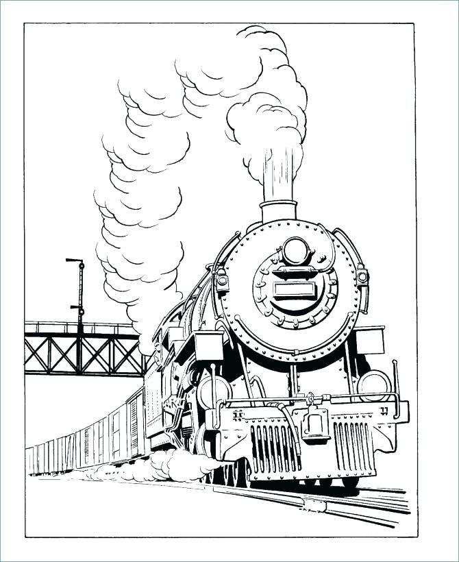 polar express train coloring pages - photo#23