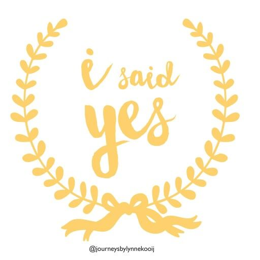 For all those who said YES!