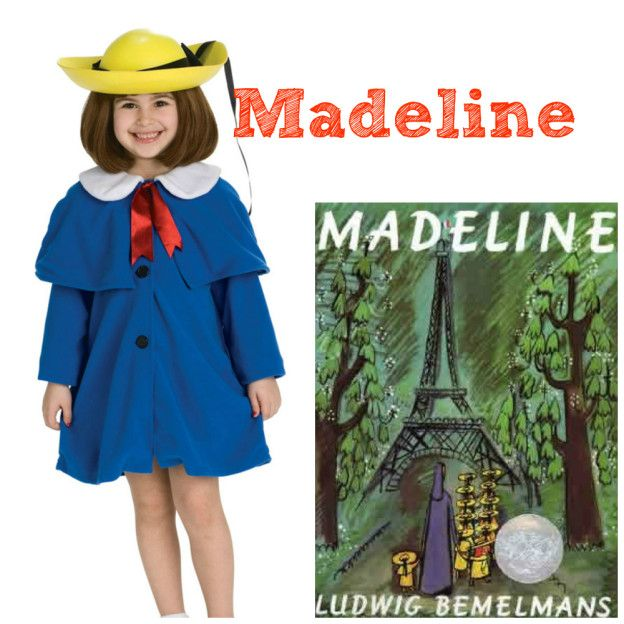 How adorable is this Madeline outfit? Ludwig Bemelmans' beloved character comes to life in this simple yet stylish Halloween costume.