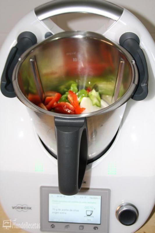 Indice de recetas con Thermomix TM5 Arroces: Arroz amarillo con pollo Carnes: Albóndigas en salsa de verduras A...