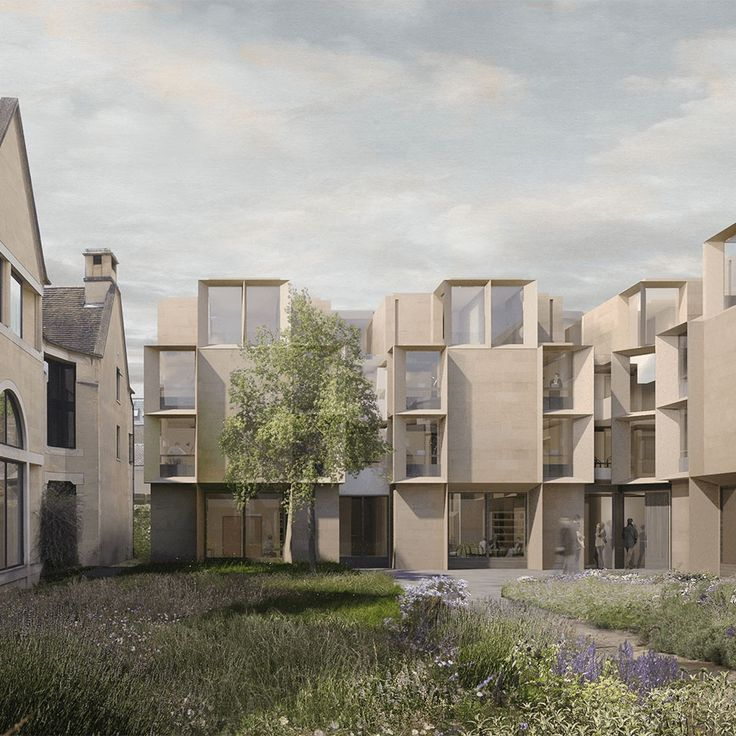 Saint Cross College Oxford<br><fonttagsmall>Niall McLaughlin Architects</fonttagsmall>