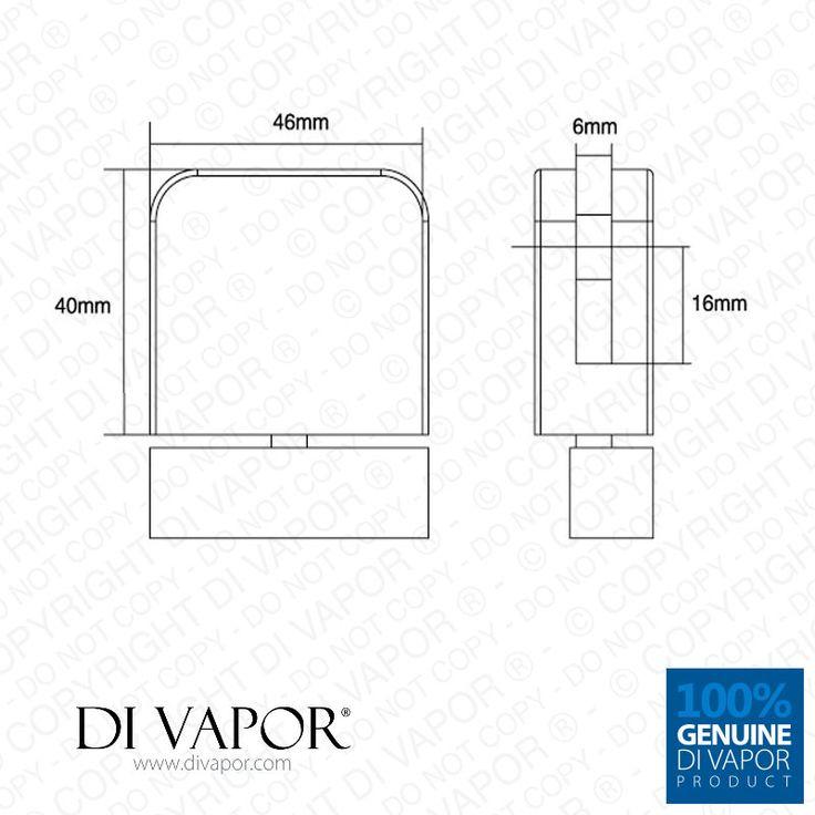 plastic glass shower door pivot hinge for 6mm glass