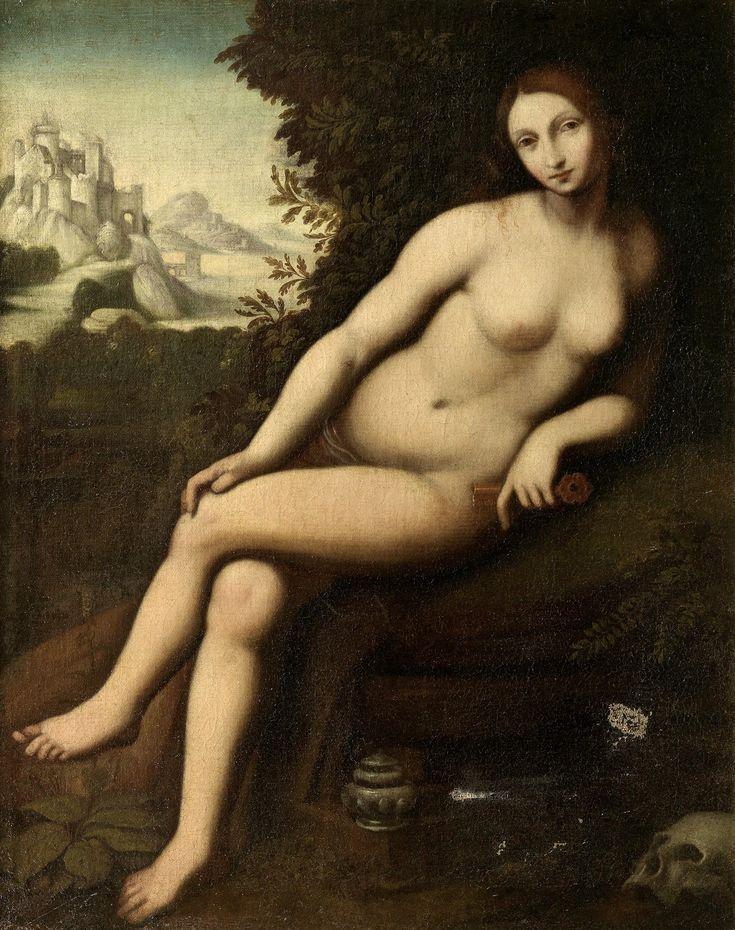 Чезаре да Сесто (Cesare da Sesto),1477-1523.,Последователь. Кающаяся Мария Магдалина (The Penitent Magdalen)91.4х71.1, х.,м.Частное собрание.