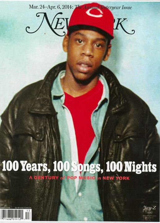 JAY Z is featured on the cover of New York Magazine's annual yesteryear issue, on newsstands now.