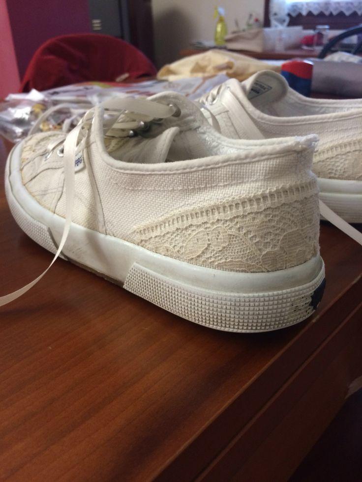 Idea per rinnovare un paio di scarpe