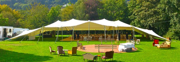 Wedding stretch tent hire UK