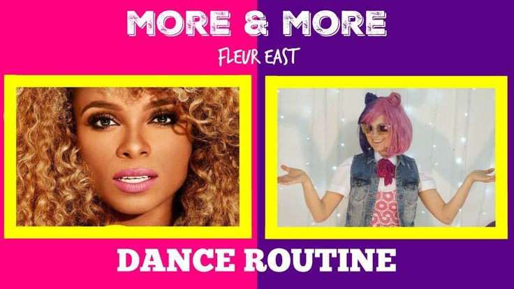 Fleur East - MORE & MORE - Easy kids dance - choreography (dance tutorial)