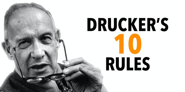 """10 Success lessons from Peter Drucker """"Father of Modern"""