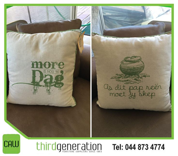 Add a personal touch to your favourite armchair with assorted #scattercushions, available from #ThirdGenerationCAW.