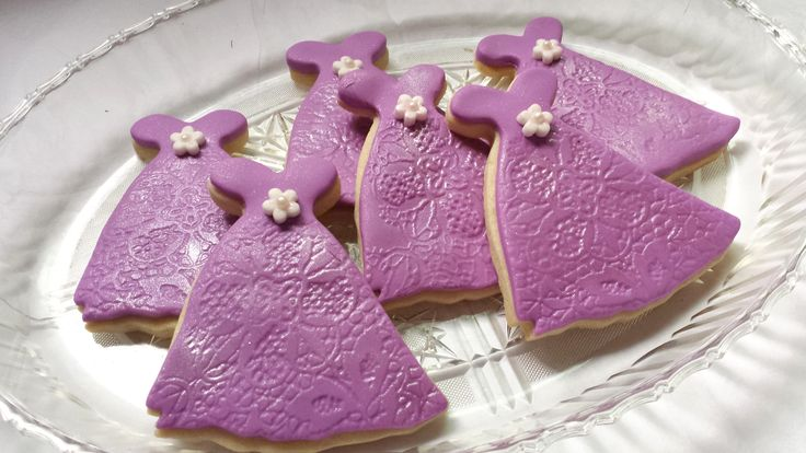 Party Dresses Cookies